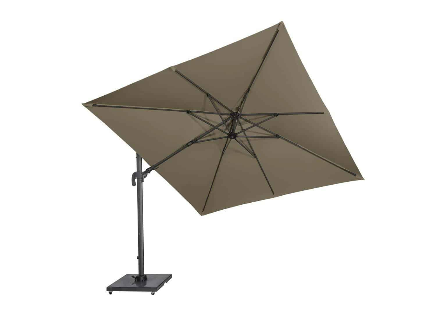 Parasol ogrodowy FALCON T2 2,7 m x 2,7 m taupe 7093E 313