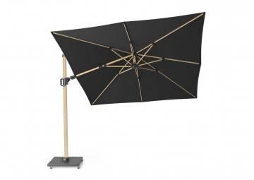 Parasol ogrodowy Challenger T2 premium 3 m x 3 m oak / faded black 272