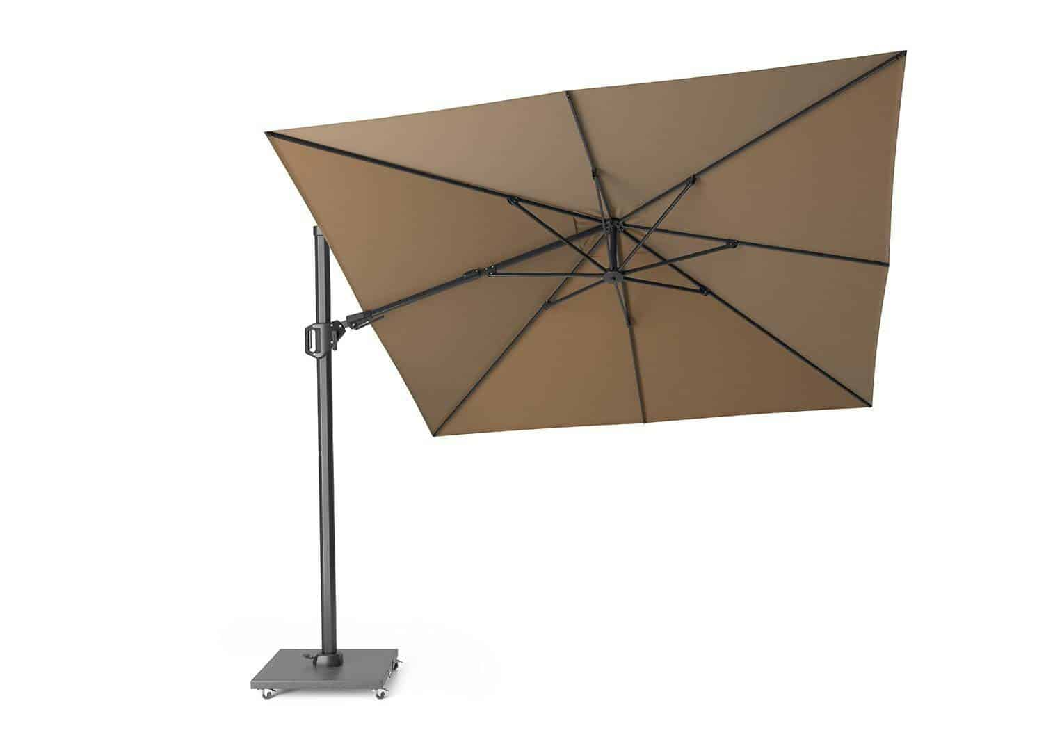 Parasol ogrodowy Challenger T2 3 m x 3 m taupe 274
