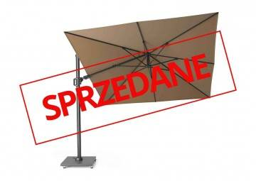 Parasol ogrodowy CHALLENGER T2 3 m x 3 m taupe 7139E 569