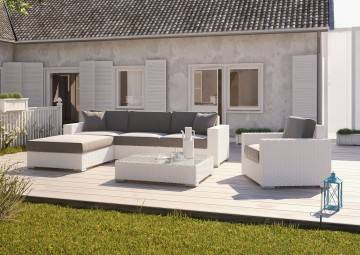 Fotel MILANO royal white