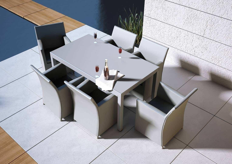 Stół ogrodowy TOLEDO szary