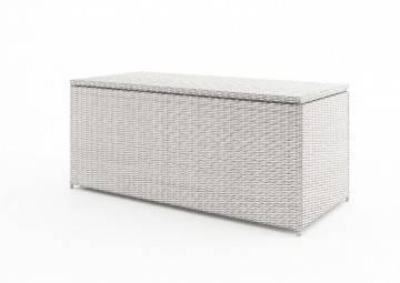 Skrzynia na poduszki SCATOLA 160cm royal biała