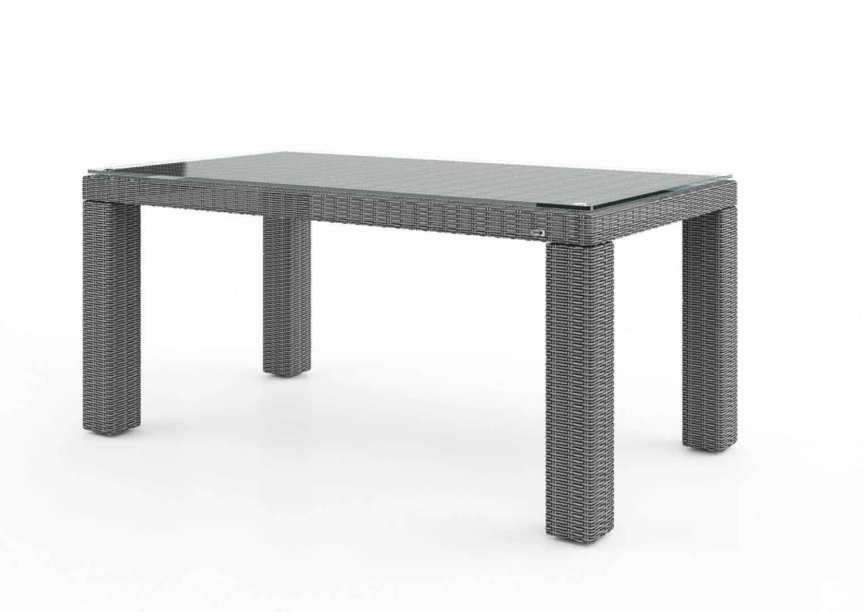 Stół ogrodowy RAPALLO 160cm royal grey