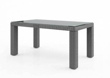 Meble ogrodowe: Stół ogrodowy RAPALLO 160cm royal grey