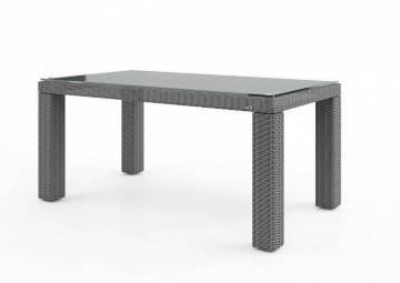 bez VAT!: Stół ogrodowy RAPALLO 160cm royal grey