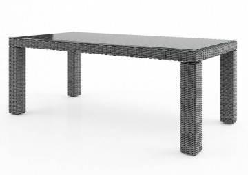 Meble ogrodowe: Stół ogrodowy RAPALLO 220cm royal grey