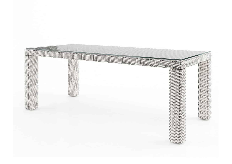 Stół ogrodowy RAPALLO 220cm royal white