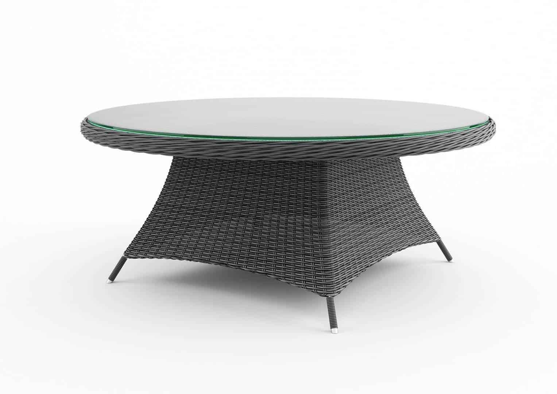 Stół ogrodowy RONDO 180cm royal szary