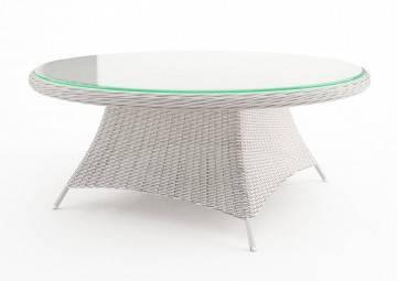 Meble do restauracji HoReCa: Stół ogrodowy RONDO 180cm royal biały