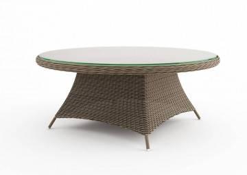 Meble do restauracji HoReCa: Stół ogrodowy RONDO 180cm royal piaskowy