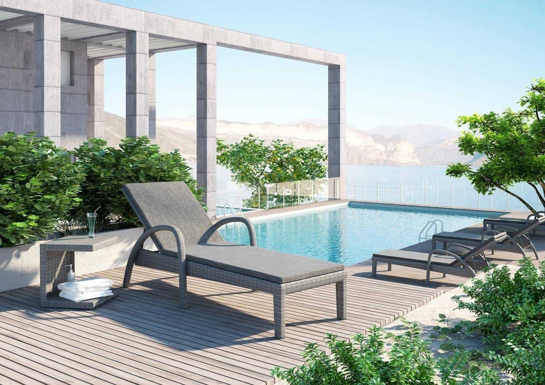 idealny towarzysz kokona ogrodowego: stolik ROMEO