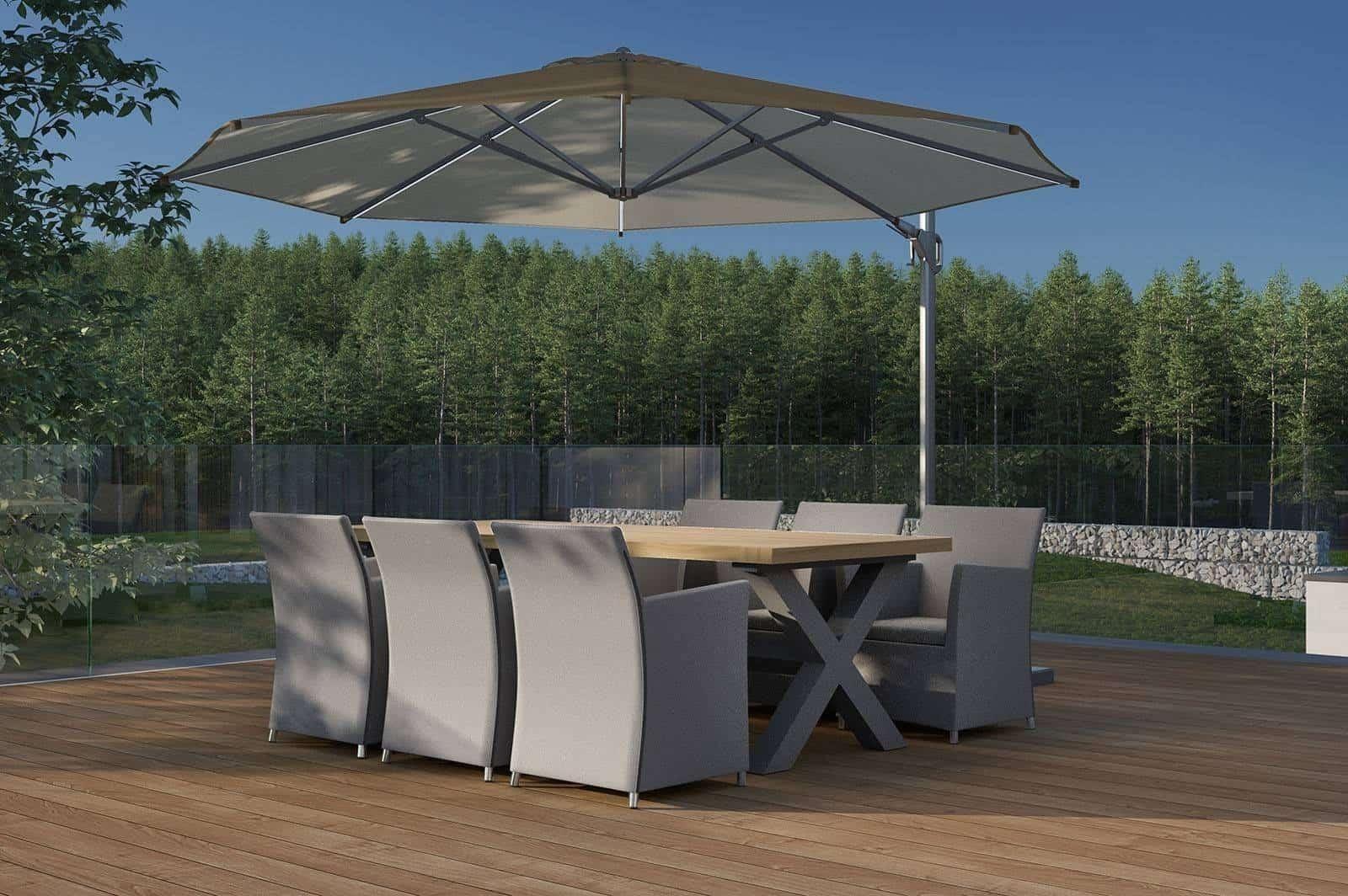 Stół ogrodowy BILBAO grey
