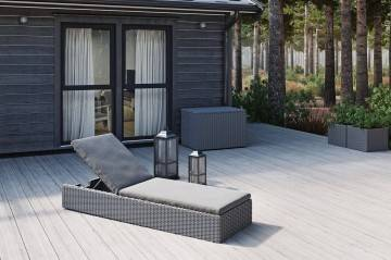 Leżak ogrodowy ALICE royal grey