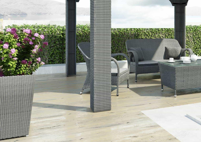 Donica ogrodowa SCALEO 100cm royal grey