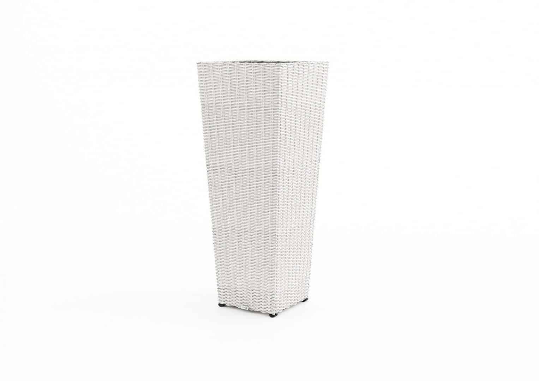 Donica ogrodowa SCALEO 100cm royal white