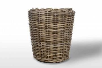 designerskie meble do ogrodu: Donica rattanowa GRASSE ⌀52cm x wys. 48cm