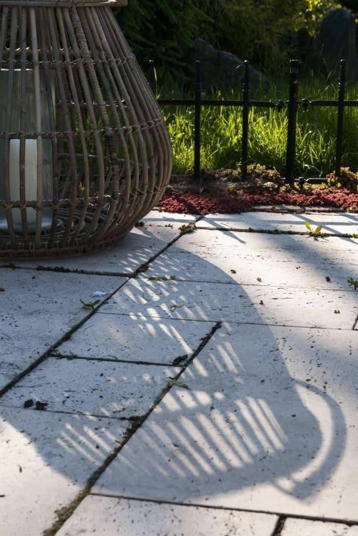 Lampion okrągły CAEN ⌀54cm x wys. 48cm naturalny