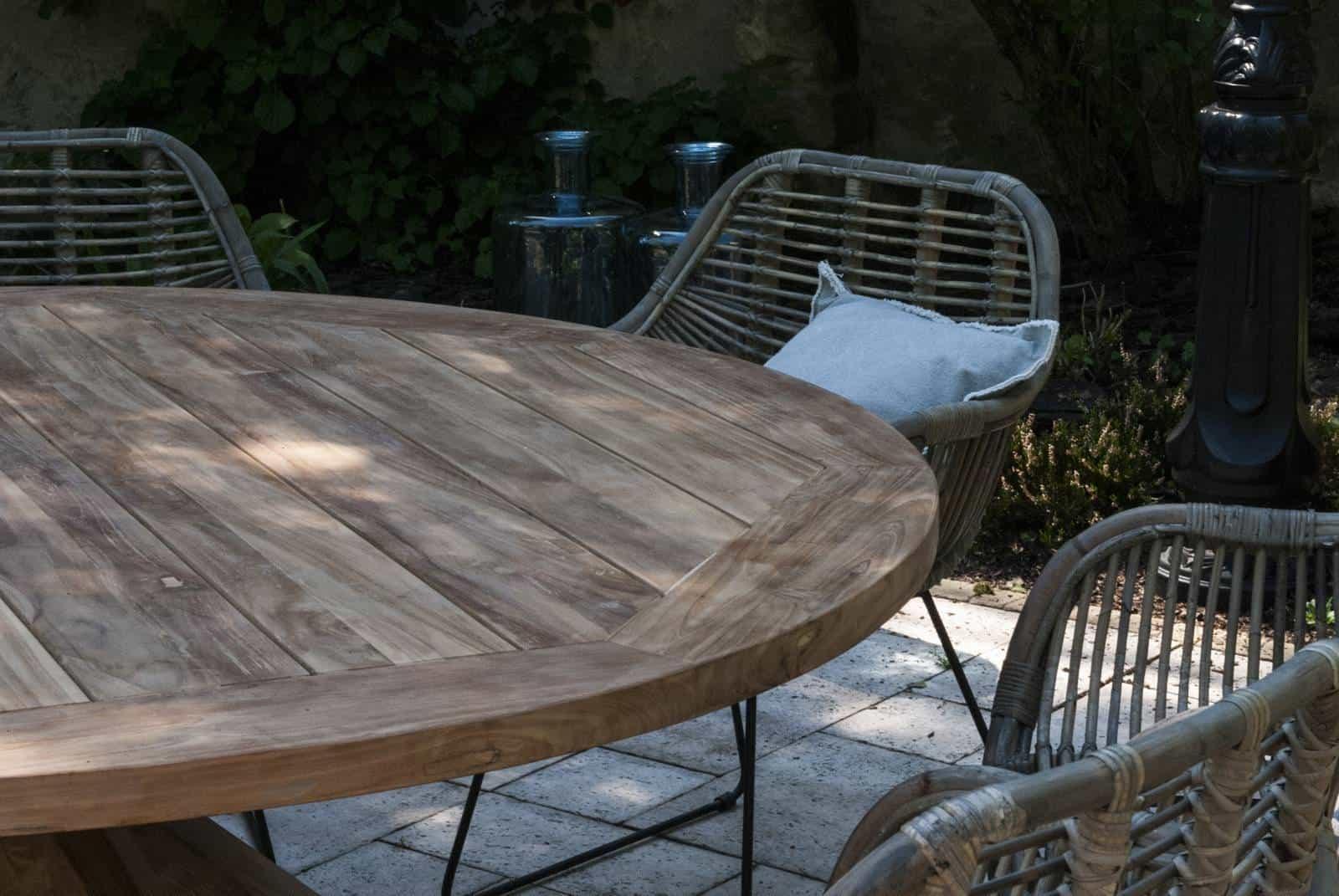 meble ogrodowe z drewna egzotycznego Bordeaux