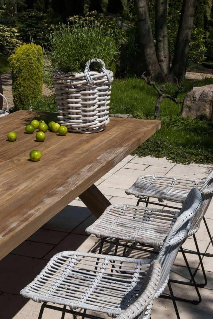 Stół ogrodowy teak LYON 240 cm