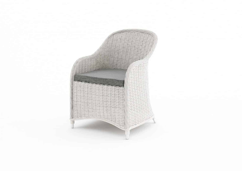 Fotel ogrodowy LEONARDO royal biały