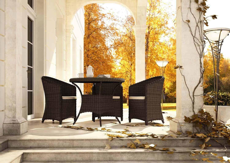 Fotel ogrodowy DOLCE VITA royal szary