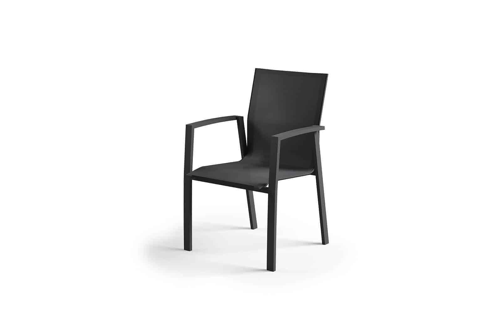 Krzesło ogrodowe LEON antracite