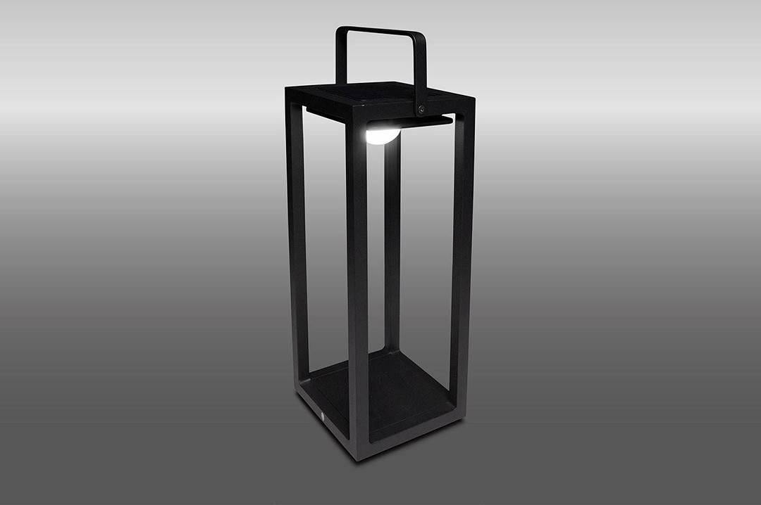 Lampa solarna Mr. Solar JACK antracyt 20x20x50cm