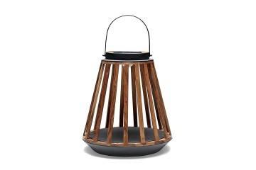 lampa solarna kate: Lampa solarna Mrs. Solar Kate teak antracyt M