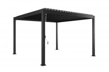 bez VAT!: Zadaszenie tarasowe PERARA 360x360cm grey