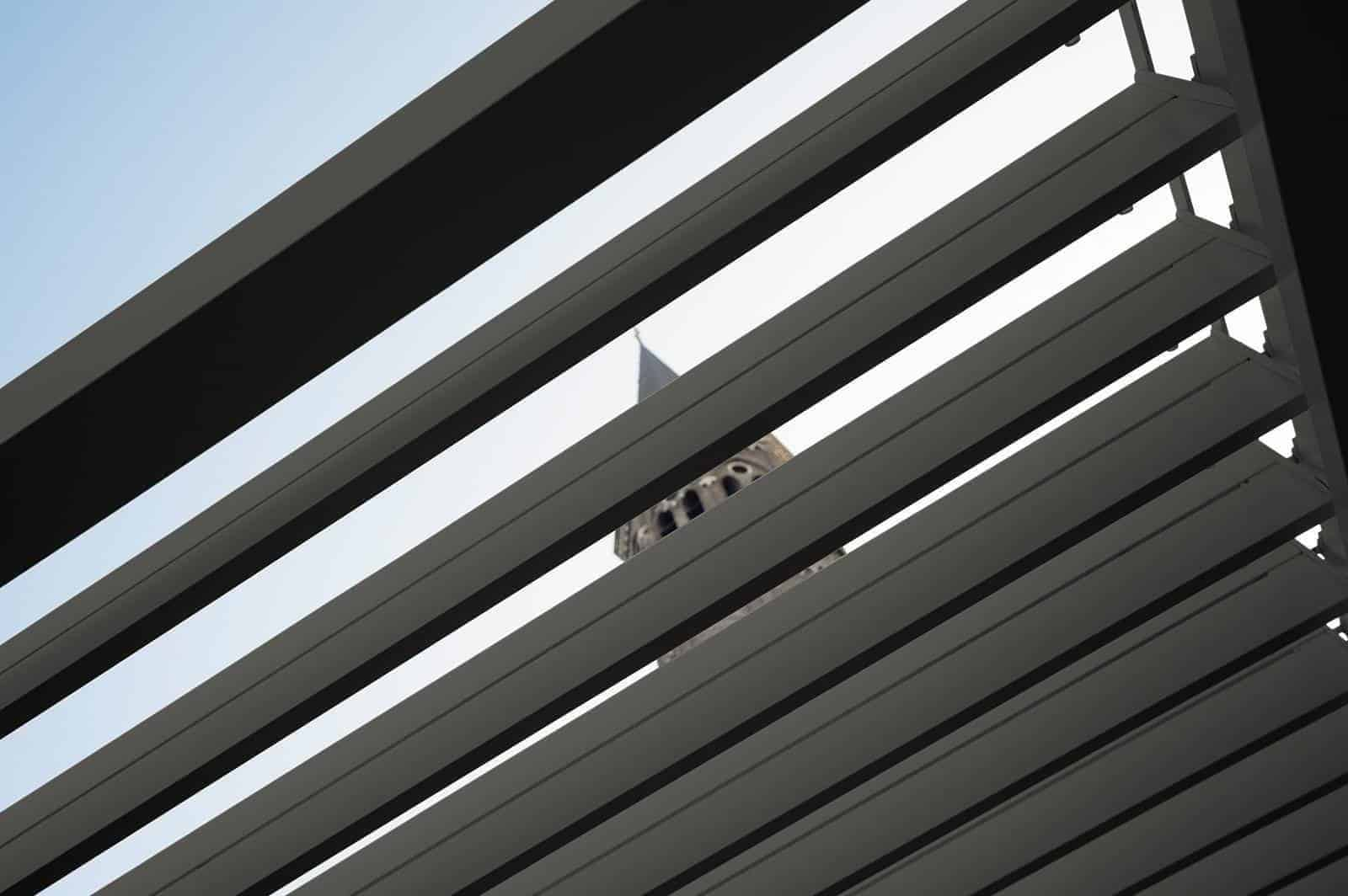 Zadaszenie tarasowe PERARA 360x360cm grey