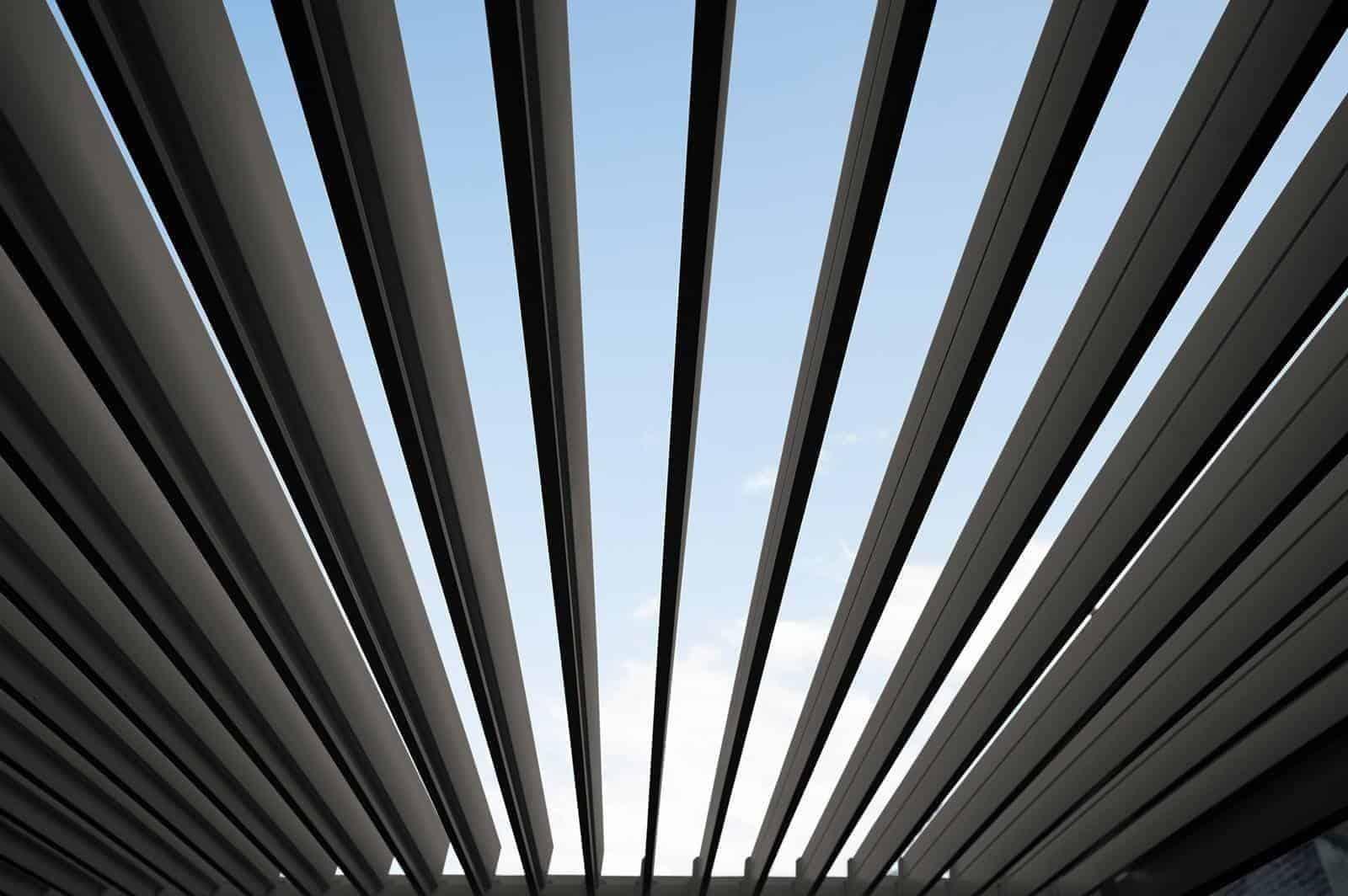 Zadaszenie tarasowe PERARA 300x300cm antracyt