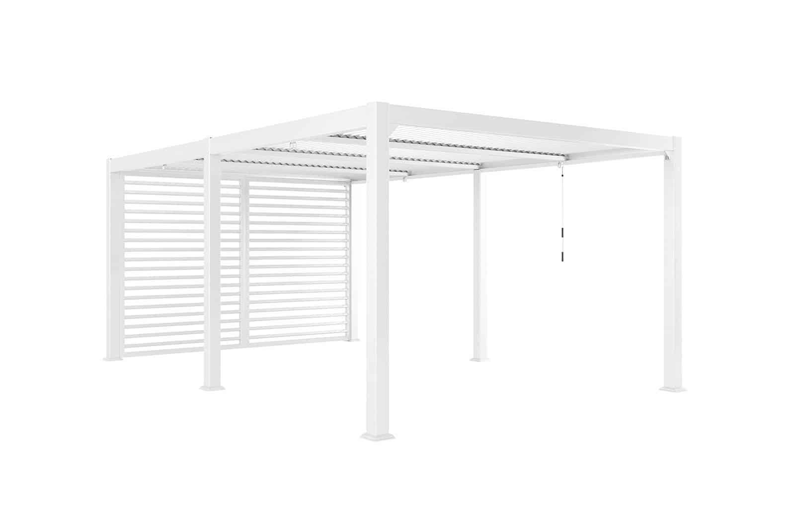 Ścianka boczna MARANZA 360cm / 540cm / 720cm white