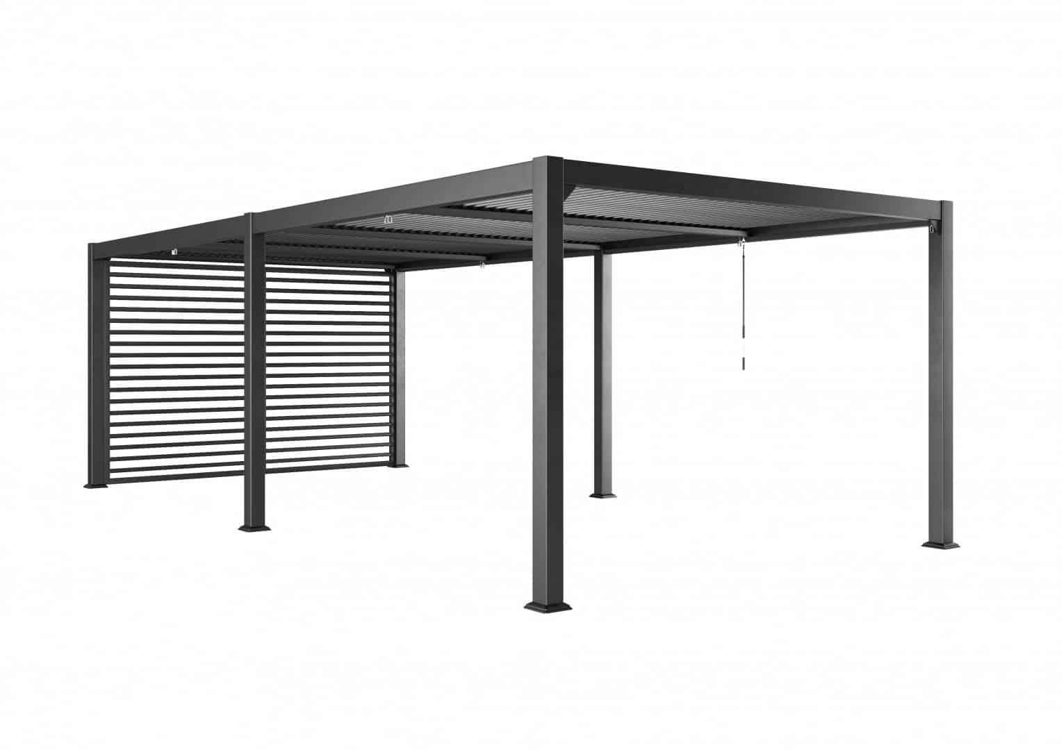 Ścianka boczna MARANZA 360cm / 540cm / 720cm grey