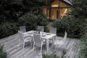 Stół ogrodowy OVIEDO white