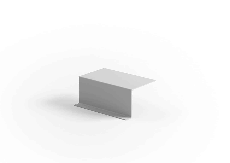 Stolik boczny / podłokietnik CORIA light grey