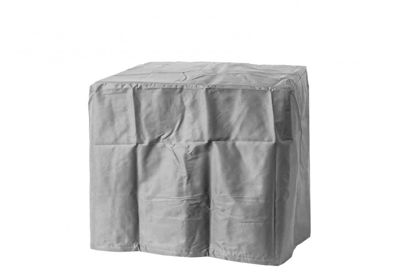 Palenisko gazowe kwadratowe 76cm antracyt