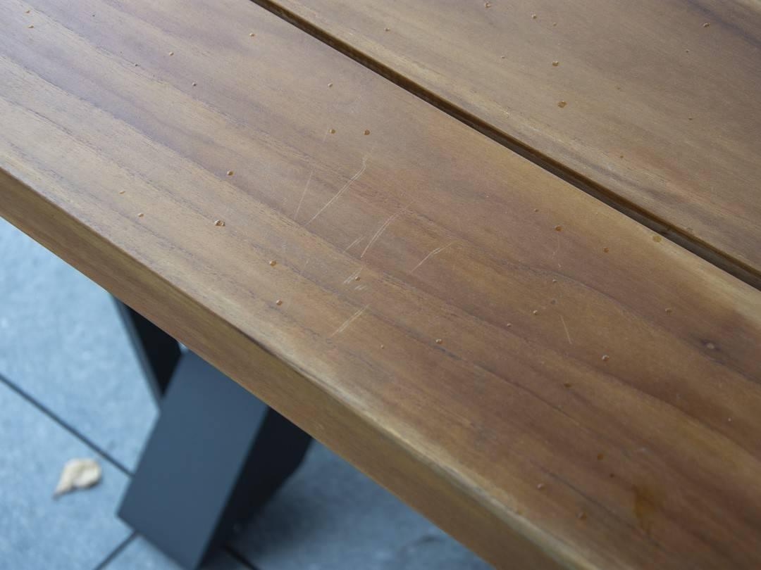 Meble ogrodowe BILBAO + LEON teak anthracite 443