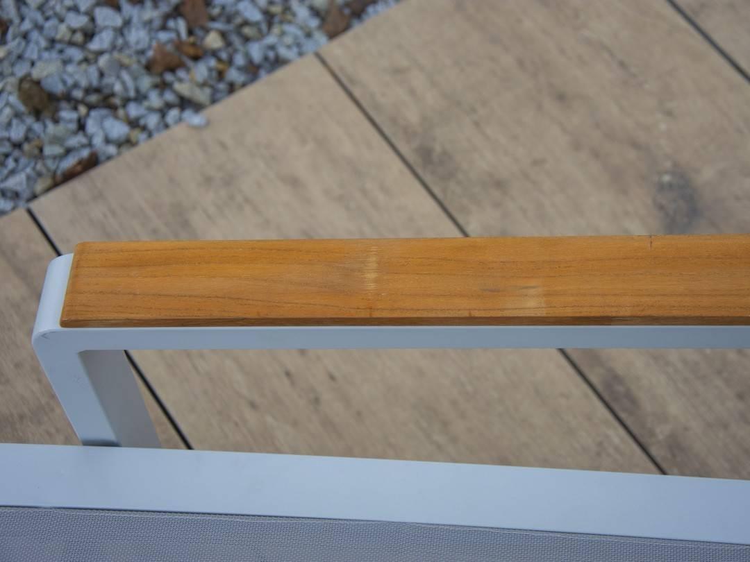 Leżak ogrodowy CORDOBA + GRENADA Stone & Wood light grey 448