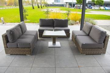 OUTLET: Meble ogrodowe MILANO royal sand 153
