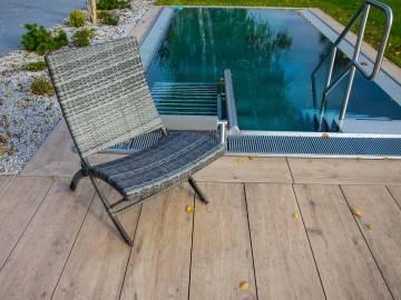 OUTLET: Krzesło ogrodowe PORTO modern grey 396