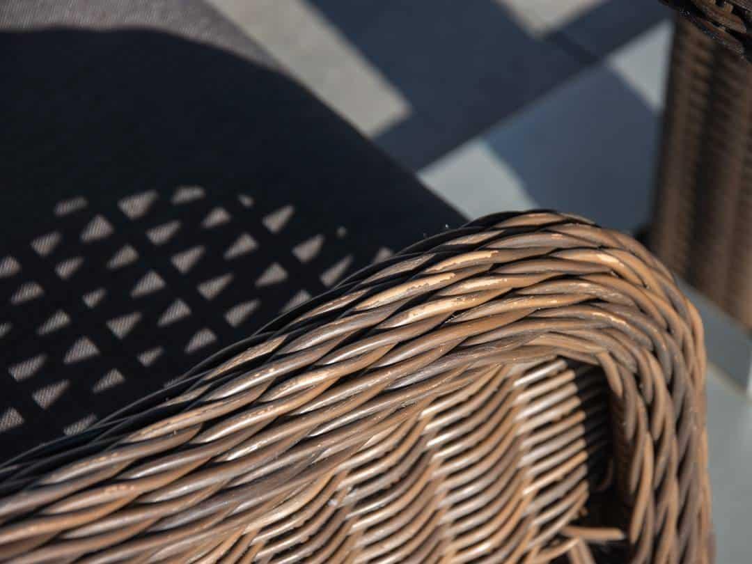 Zestaw mebli ogrodowych QUADRO + LEONARDO royal brown 461