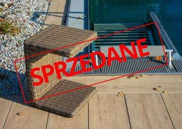 OUTLET: Stolik ogrodowy ROMEO royal sand 408