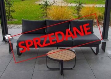 Zestaw sofa + stolik PARMA anthracite 467