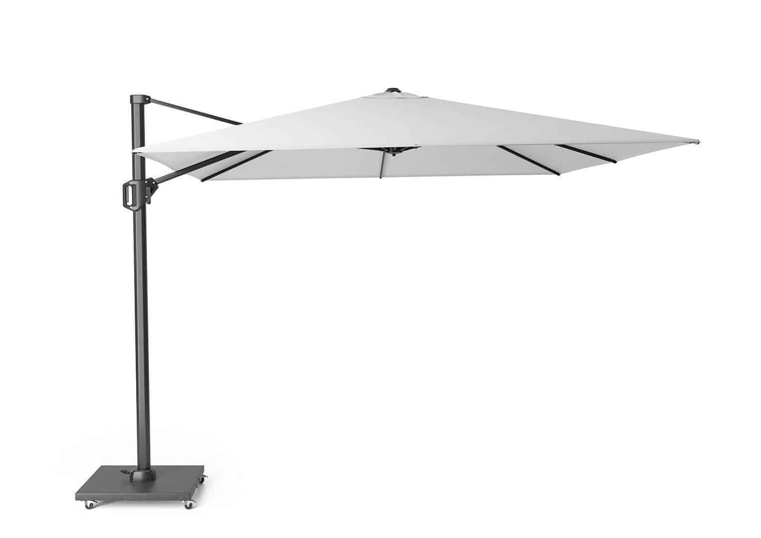 Parasol ogrodowy Challenger T1 3 m x 3 m white 7142A 259