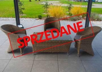 Meble ogrodowe FIRENZE + DOLCE VITA royal sand 417
