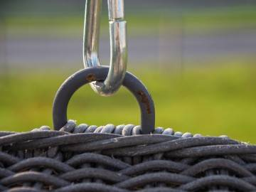 Huśtawka ogrodowa Kokon royal grey 469