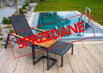 Leżak ogrodowy CORDOBA + GRENADA teak anthracite 479