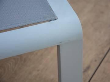 Leżak ogrodowy CORDOBA + GRENADA light grey 480