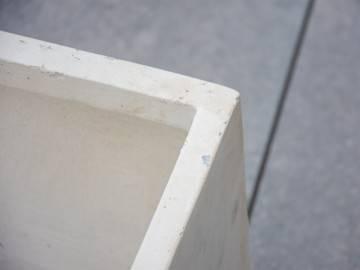 Donica ogrodowa z cementu BIGULAR piaskowa 484
